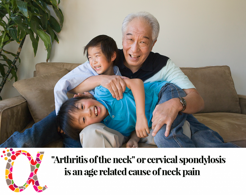 arthritis of the neck causes neck pain