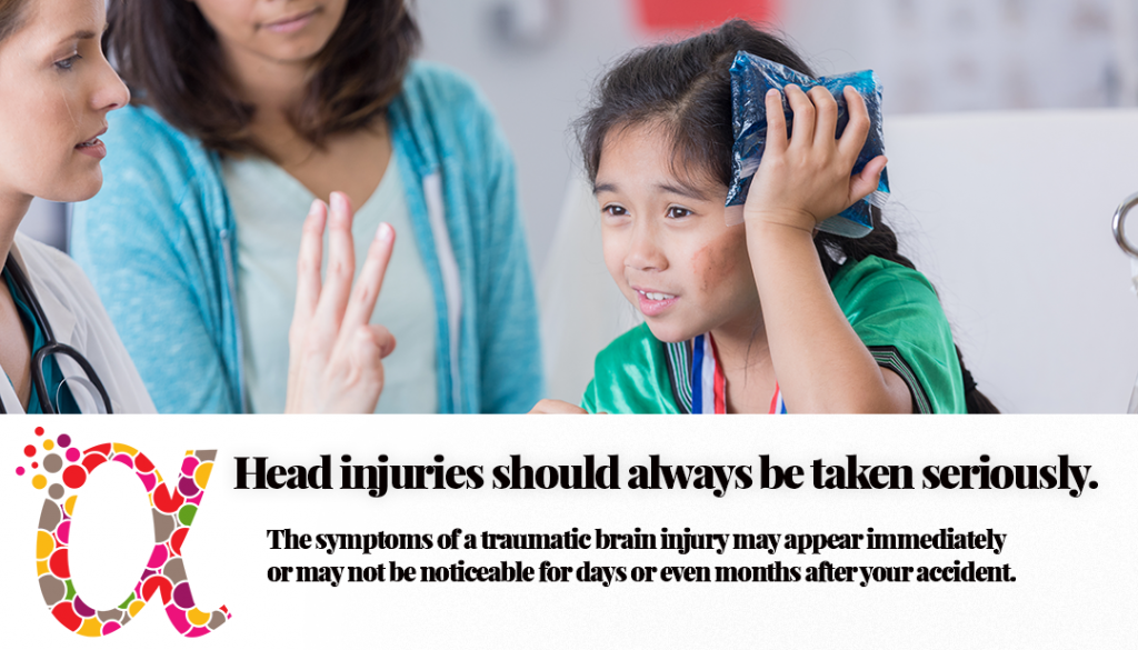 Head Injuries are common in car accidents