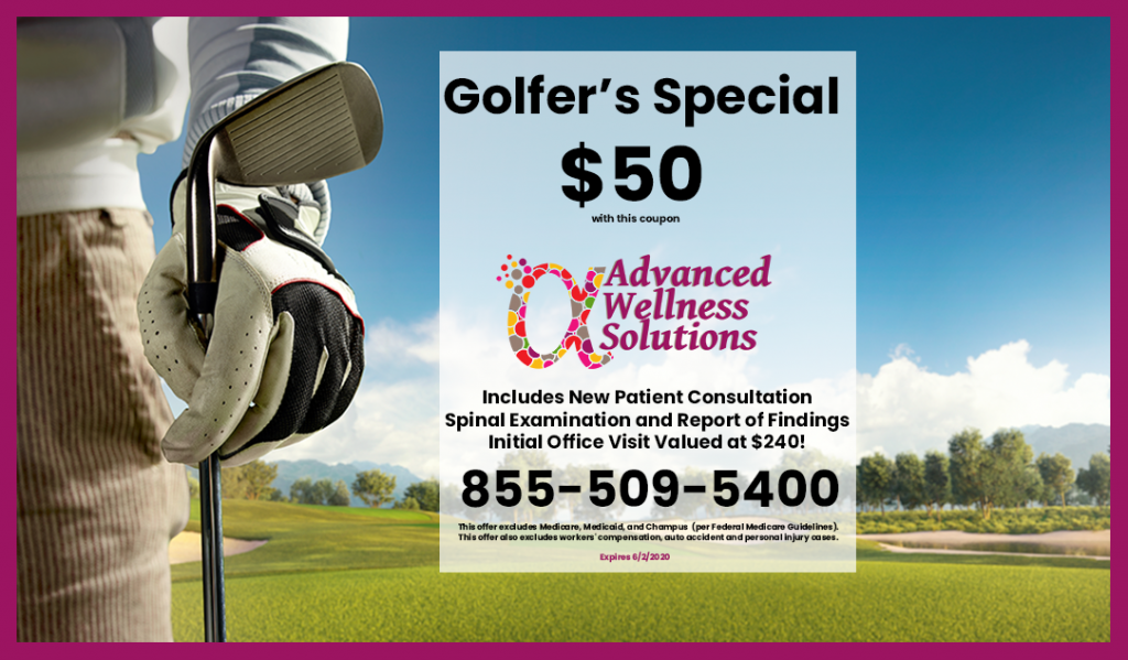 golfer's special coupon