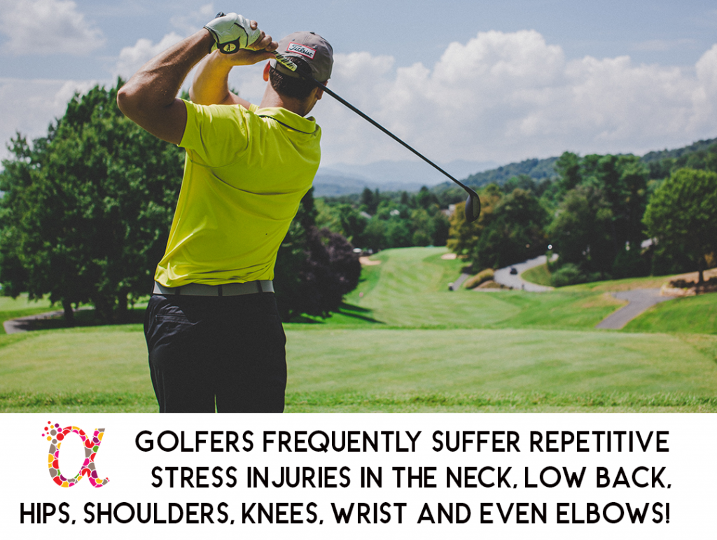 Chiropractic Care for Golfers Prevents Repetitive Stress Golf Injuries
