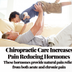 Chiropractic care increases pain reducing hormones. These hormones provide natural pain relief from both acute and chronic pain.