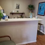 Front Desk of AWS Chiropractic Cove Road Location