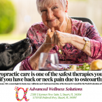 Chiropractic care is one of the safest therapies you can use if you have back or neck pain due to osteoarthritis. Quote Scott Haldeman, MD, a neurologist in Santa Ana, California and Chairman Emeritus of the Research Council for the World Federation of Chiropractic