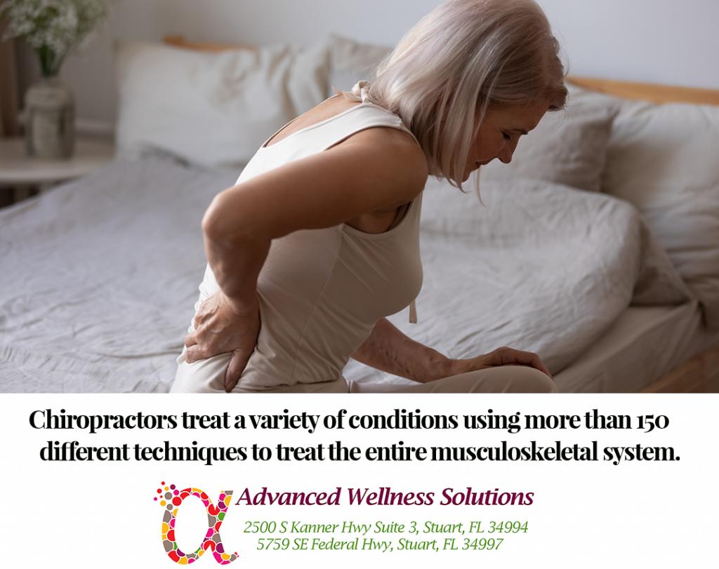 Conditions chiropractors treat
